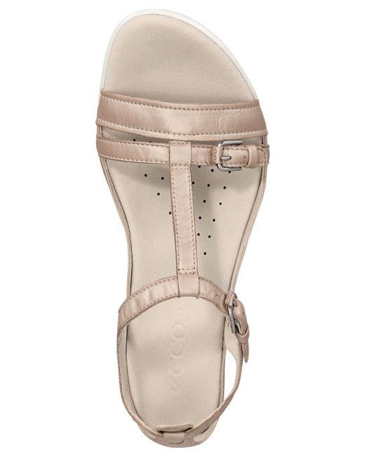 03afb6678348 ... Ecco - Multicolor Flash Buckle Sandals - Lyst ...