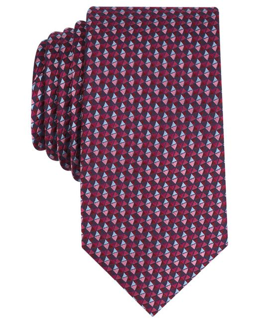 Perry Ellis - Purple Men's Templar Neat Silk Tie for Men - Lyst