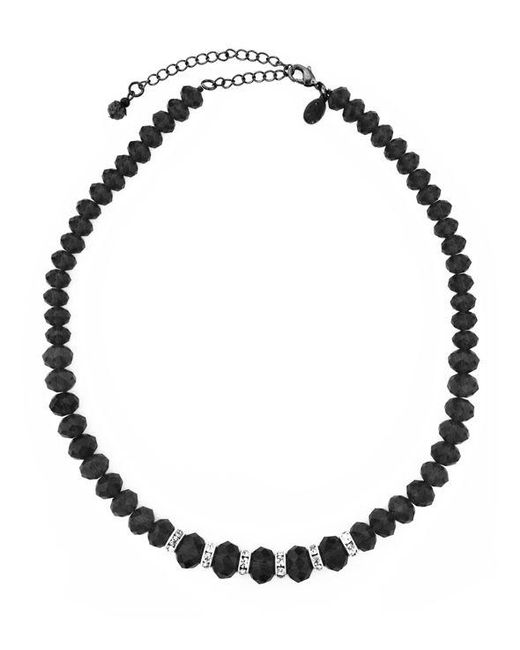 2028 | Black Necklace, Jet Bead Necklace | Lyst
