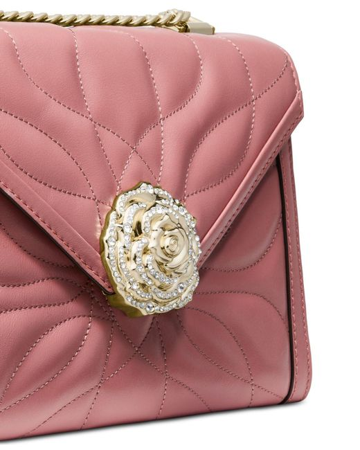 2179eec68b50 ... Michael Kors - Multicolor Michael Whitney Petal Quilted Leather  Shoulder Bag - Lyst ...