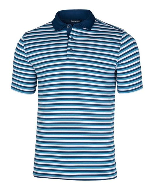 Cutter & Buck Blue Big And Tall Forge Polo T-shirt for men