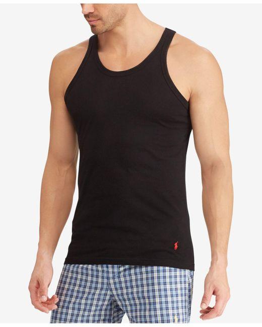 Cotton Tank Men's Stretch Jersey 3 Black Fit Pack UnderwearSlim xoeCdB