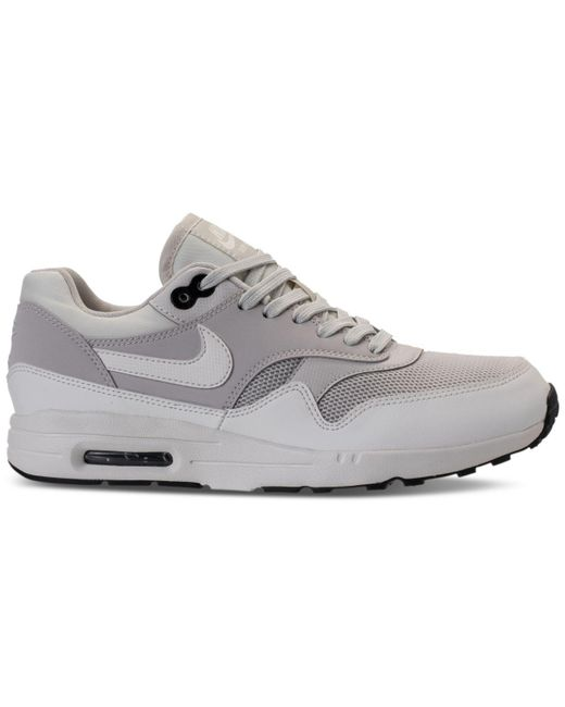 best loved 20cc1 7aa2c ... Lyst Nike - Gray Womens Air Max 1 Ultra 2.0 Running Sneakers From  Finish Line ...