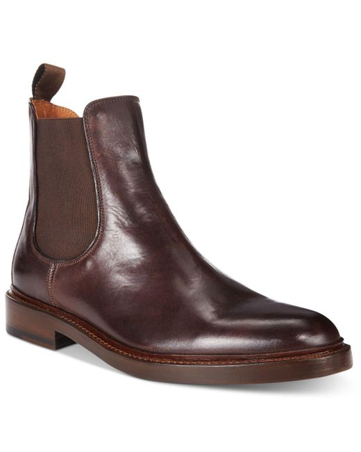 Frye | Brown Ethan Double Zip for Men | Lyst