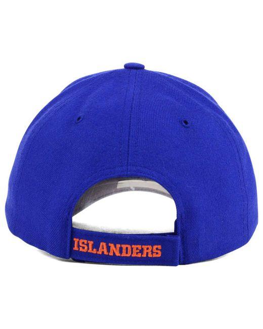 designer fashion b4c1c abcee ... purchase 47 brand blue new york islanders curved mvp cap for men lyst  34645 1e59d