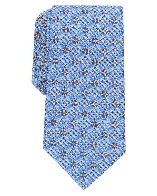 Perry Ellis Blue Haggerty Grid Tie for men