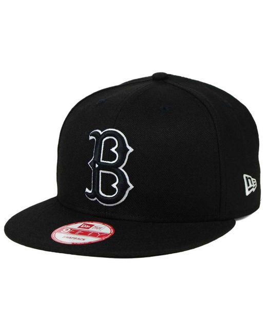 KTZ - Black Brooklyn Dodgers B-dub 9fifty Snapback Cap for Men - Lyst