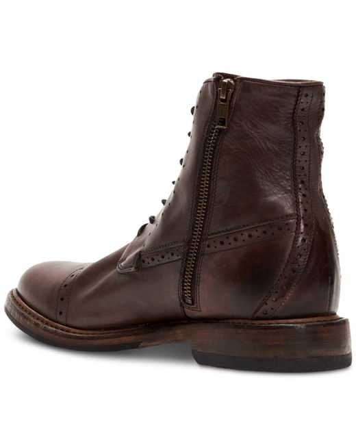 Frye Leather Murray Lace-up Boots in