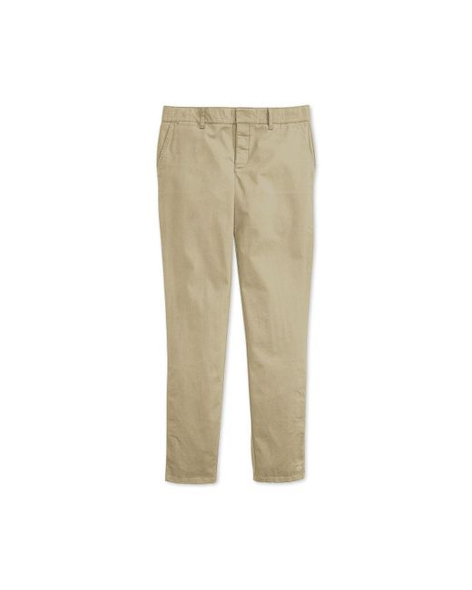 Tommy Hilfiger - Natural Hampton Slim Chinos With Magnetic Fly - Lyst