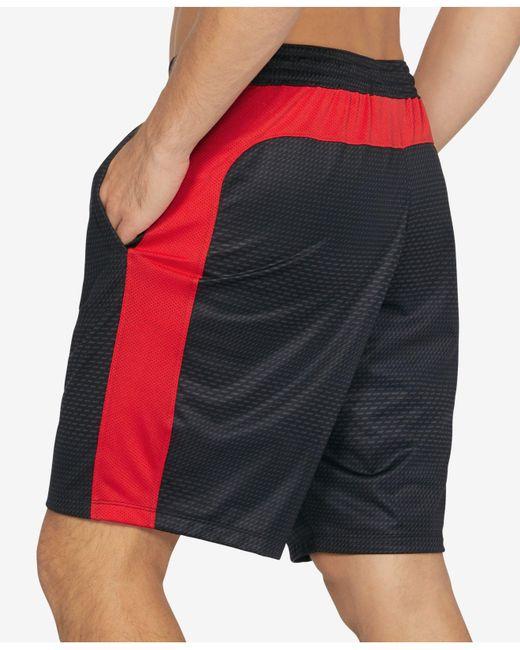 "Under Armour - Black Mk-1 Heatgear® Colorblocked 9"" Shorts for Men - Lyst"