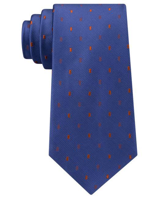 Michael Kors | Blue Men's Emerald Neat Tie for Men | Lyst