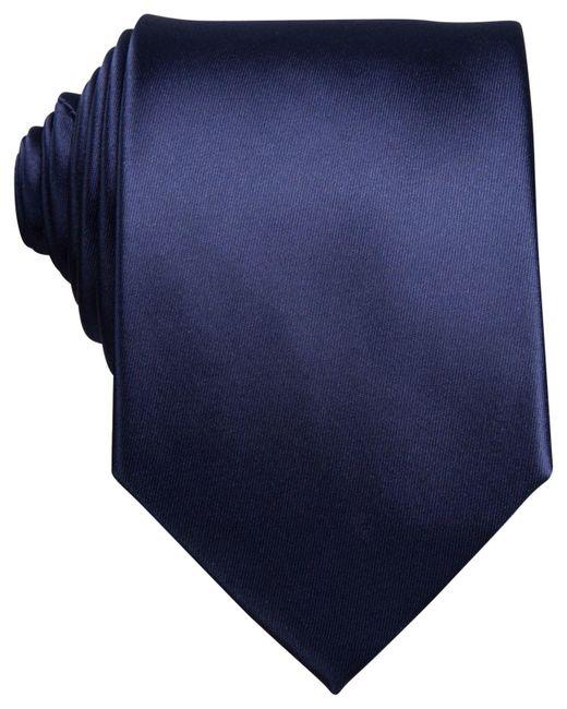 Perry Ellis - Blue Sateen Solid Tie for Men - Lyst