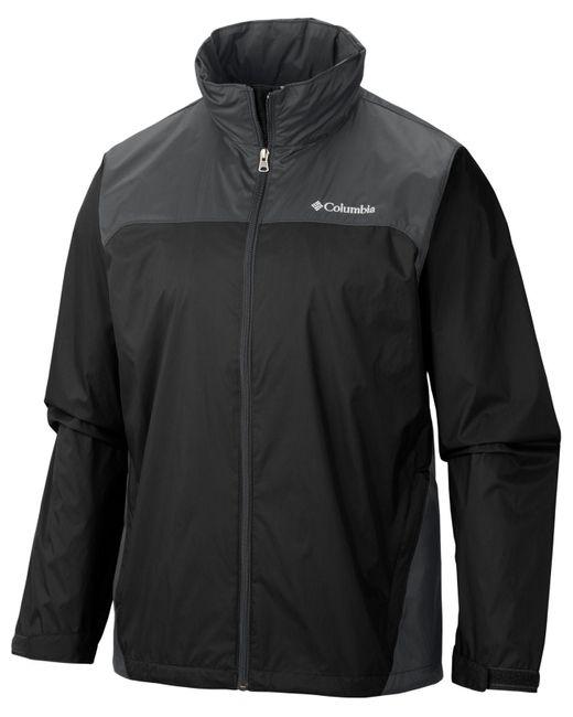 Columbia Black Big & Tall Glennaker Lake? Rain Jacket for men