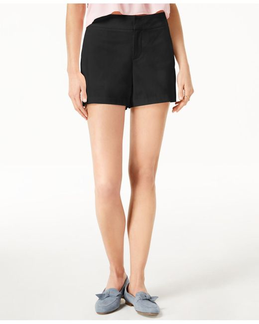 "Maison Jules - Black 6"" Shorts, Created For Macy's - Lyst"