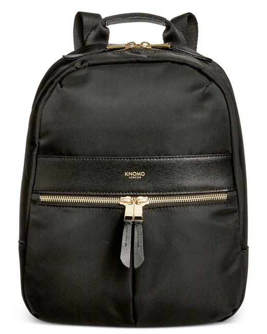 Knomo | Black Mini Nylon Backpack for Men | Lyst