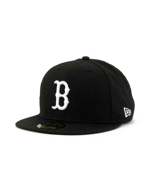 KTZ - Black Boston Red Sox B-dub 59fifty Cap for Men - Lyst