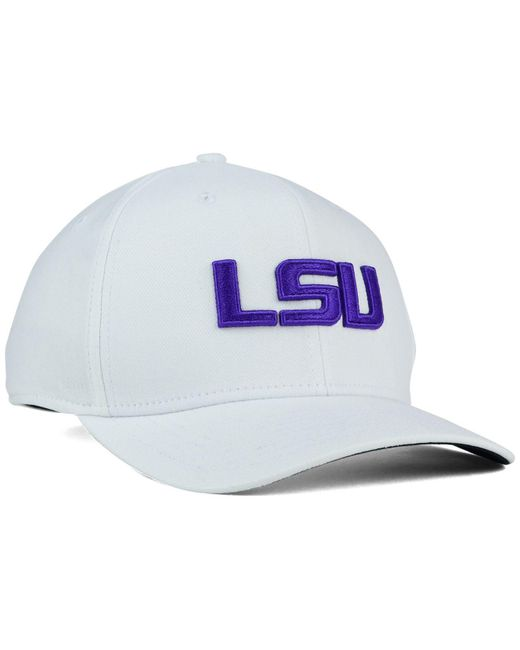 27593ad1 ... Nike - White Lsu Tigers Classic Swoosh Cap for Men - Lyst ...