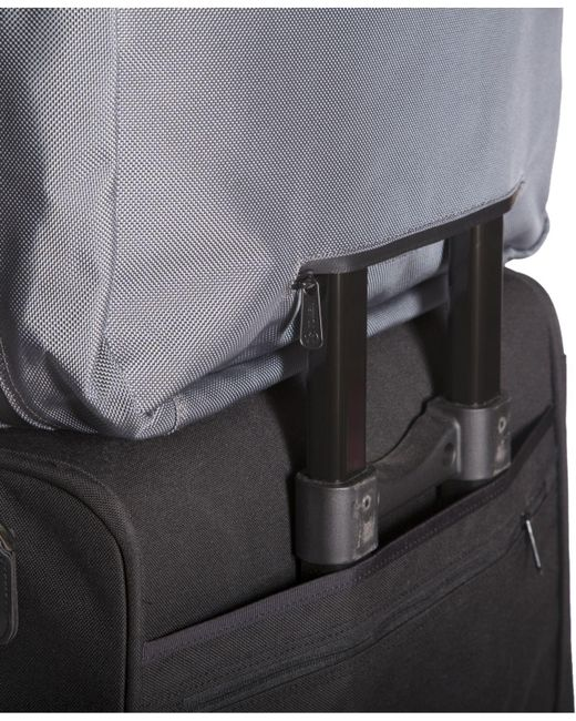 Token Bags Lawrence Laptop Bag Large with Back Zipper Gray