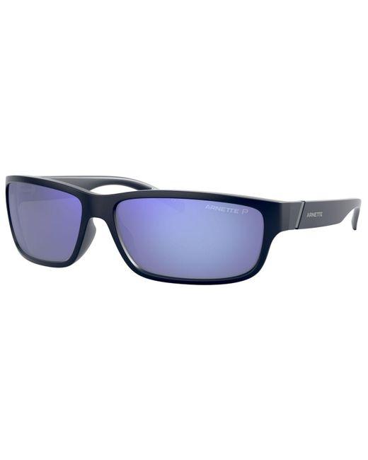 Arnette Blue Zoro Polarized Sunglasses, An4271 for men