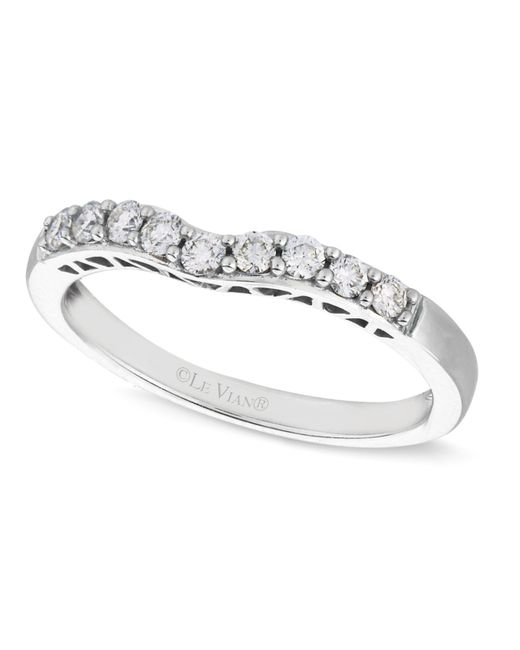Le Vian | Diamond Diamond Wedding Band (1/4 Ct. T.w.) In 14k White Gold | Lyst