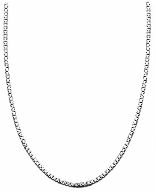 Giani Bernini | Metallic Sterling Silver Necklace, Box Chain | Lyst