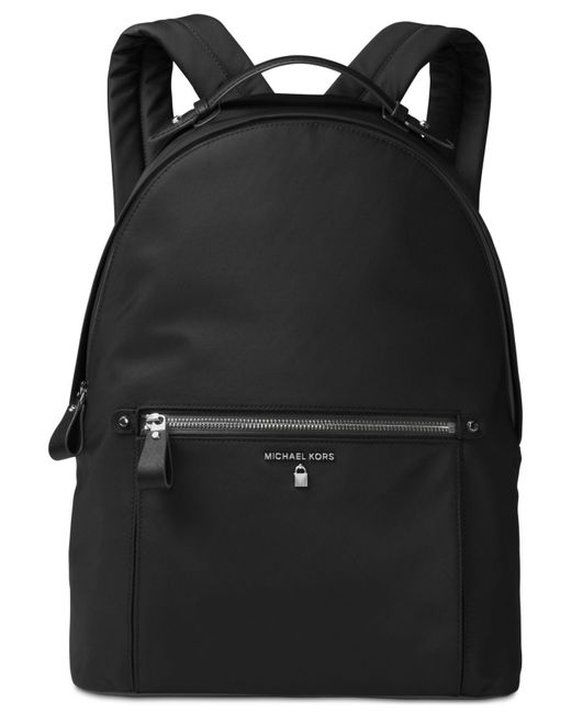 Michael Kors - Black Michael Kelsey Large Nylon Backpack - Lyst