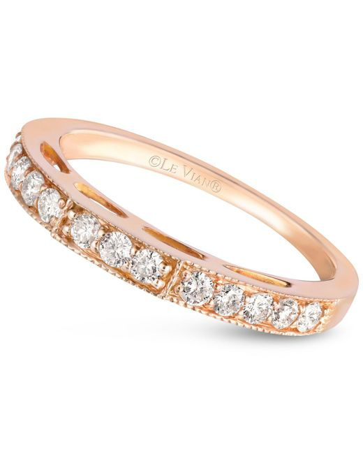 Le Vian | Pink Diamond Band (3/8 Ct. T.w.) In 14k Rose Gold | Lyst