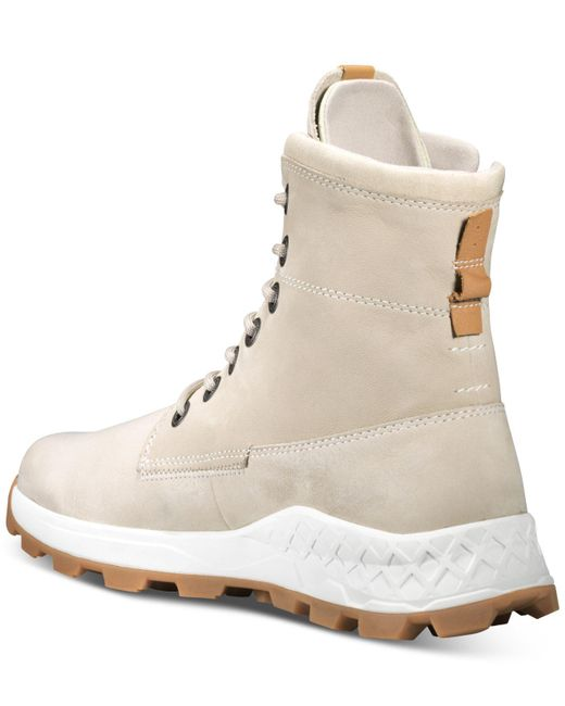 2839315542b Men's Natural Brooklyn Side-zip Boots Created For Macy's