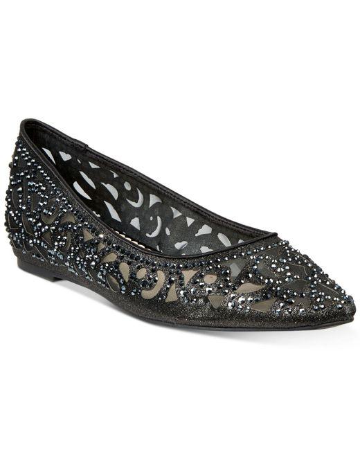 Charter Club Black Tonina Pointed-toe Flats, Created For Macy's