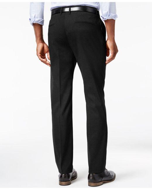 Cheap slim fit dress pants for men