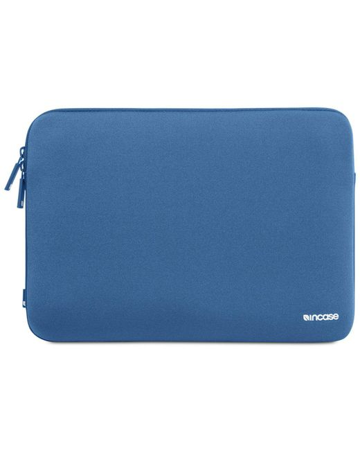 "Incase - Blue Classic 13"" Macbook Laptop Sleeve - Lyst"