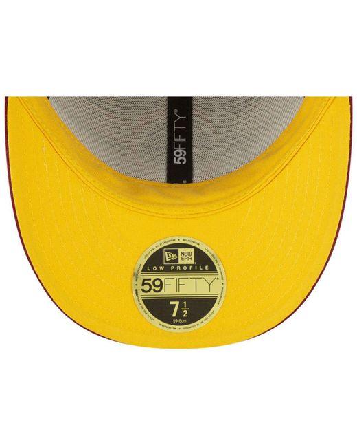 sale retailer c15c7 2b6b0 ... KTZ - Multicolor Washington Redskins Draft Low Profile 59fifty-fitted  Cap for Men - Lyst