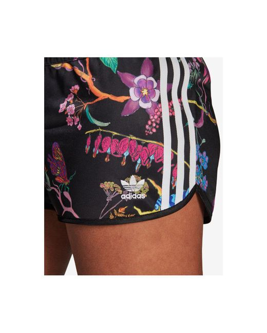 45c649930dd9 ... Adidas - The Poisonous Garden Reversible Shorts In Black - Lyst ...