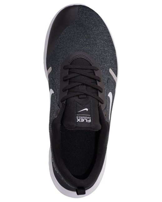low priced d9deb 5852c ... Nike - Black Flex Experience Rn 8 Extra Wide Width Running Sneakers  From Finish Line for ...