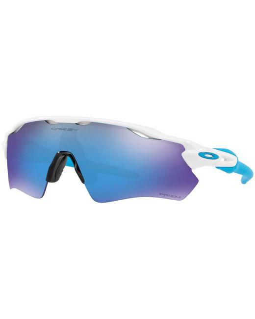 Oakley Blue Radar Ev Path Prizm Sunglasses for men