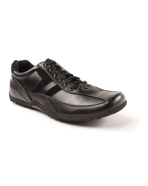 Deer Stags - Black Donald Slip Resistant Oil Resistant Non Marking Dress Comfort Oxford for Men - Lyst