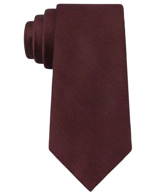 Michael Kors | Purple Luxe Variation Solid Slim Tie for Men | Lyst