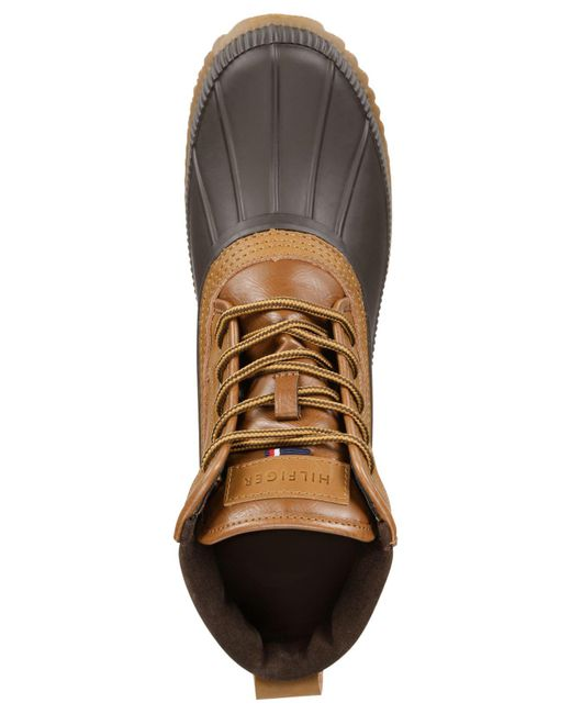 dc31dcdde20d5 ... Tommy Hilfiger - Gray Men s Casey Waterproof Duck Boots