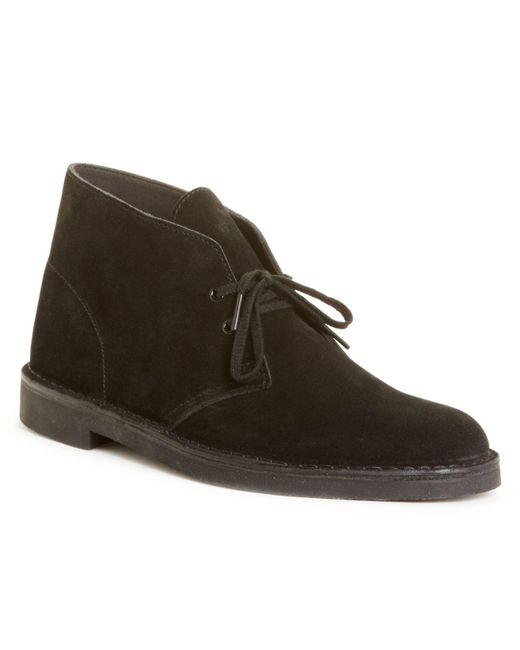 Clarks Black Bushacre 2 Chukka Boots for men