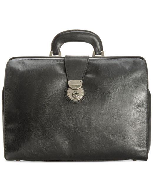 Patricia Nash | Black Men's Heritage Leather Slim Briefcase for Men | Lyst