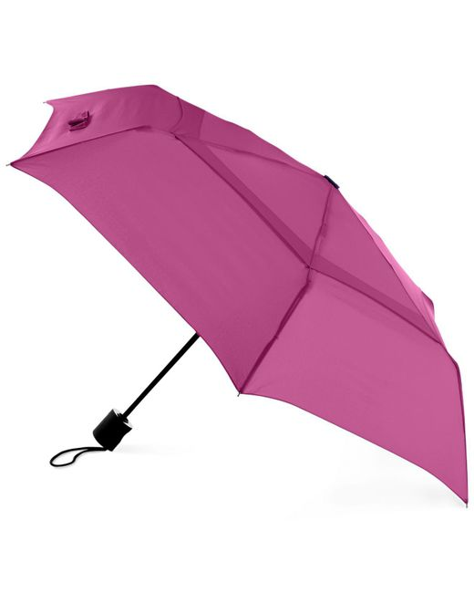 Shedrain - Pink Windpro® Flatweartm Vented Auto Open And Close Umbrella - Lyst