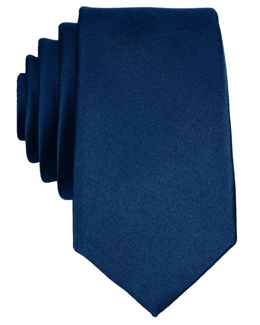 Original Penguin | Blue Super Slim Solid Tie for Men | Lyst