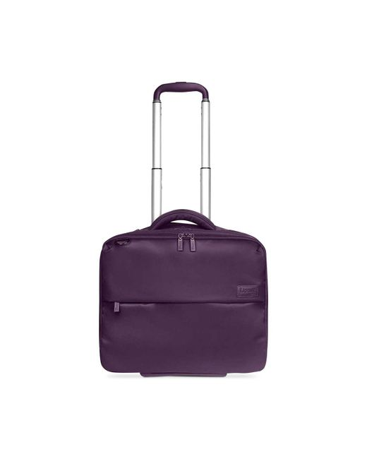 "Lipault - Purple Plume Business 15"" Rolling Tote - Lyst"
