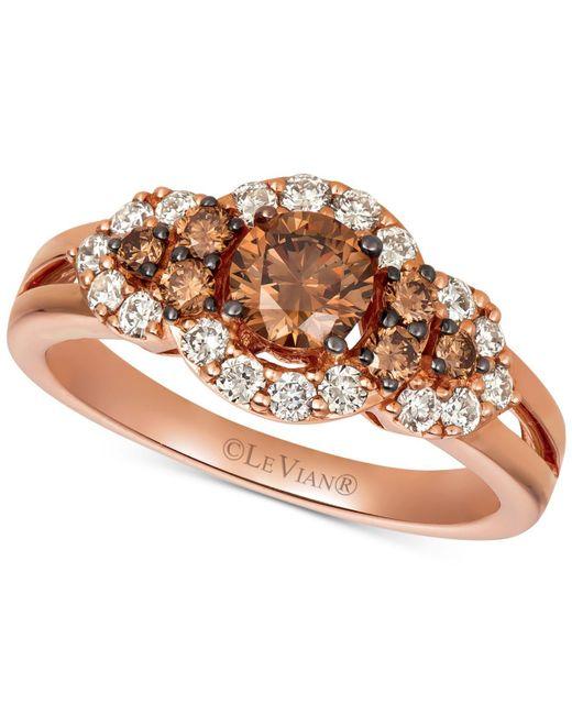Le Vian Chocolate Diamonds® (7/8 ct. t.w.) & Nude Diamonds