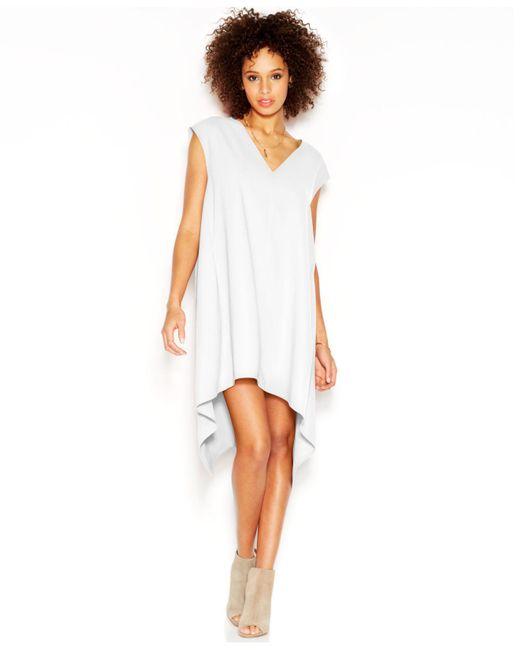 RACHEL Rachel Roy - Natural Sydney Dress Cap-sleeve V-neck Sheath Dress - Lyst