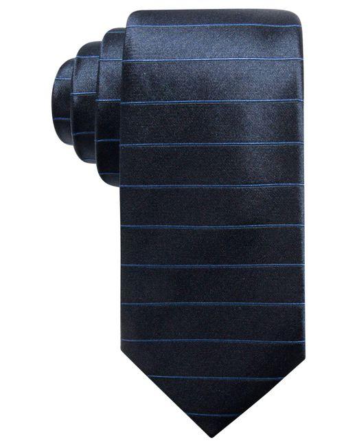 Alfani | Blue Men's Stripe Silk Slim Tie, Created For Macy's for Men | Lyst