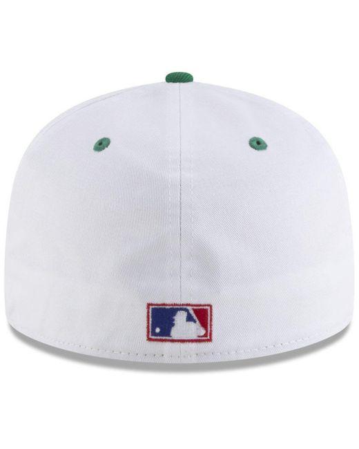 online store 4331e 1298f ... KTZ - Multicolor Toronto Blue Jays Retro Diamond 59fifty Fitted Cap for  Men - Lyst