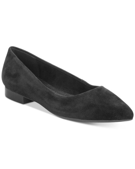 Bella Vita | Black Vivien Pointed-toe Flats | Lyst