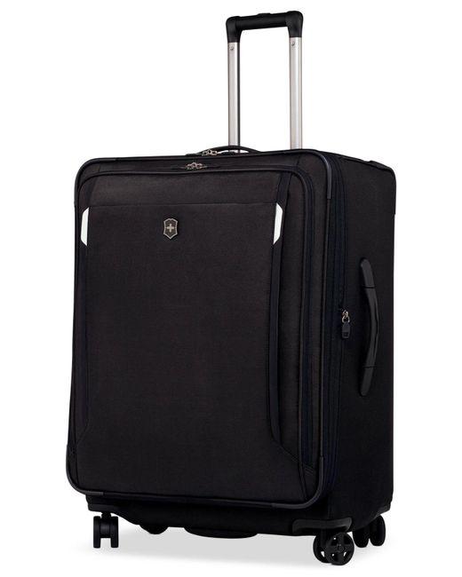 "Victorinox - Black Werks Traveler 5.0 27"" Dual Caster Spinner Suitcase for Men - Lyst"