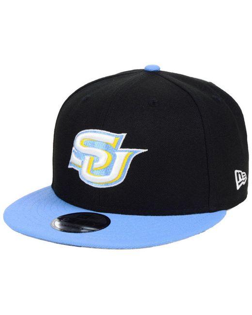 on sale 31335 1f6ff KTZ - Southern Jaguars Black Team Color 9fifty Snapback Cap for Men - Lyst  ...
